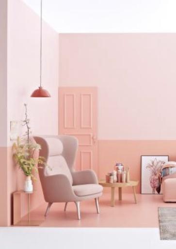 Farbe Wohnen wohnen mit farbe rosa kollektion 2 j der hude 1 1 farben